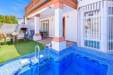 Vakantiehuis met Wifi en openhaard in El Bosque