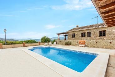 Huisdiervriendelijk vakantiehuis met rustieke charme nabij Alora