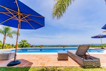 Casa Rural cerca de la playa con Wifi y piscina en Mijas