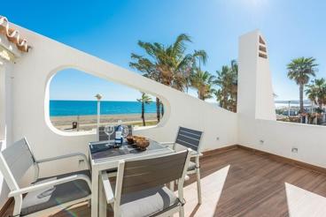 Vakantiehuis met zwembad en tuin in Torre del Mar