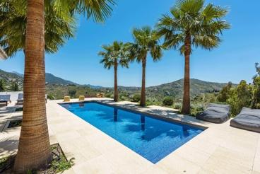 Magnífica casa de vacaciones con fabulosa zona chill-out en Cómpeta