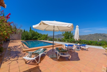 Maison de vacances avec wifi et jardin á Sayalonga