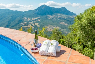 Holiday Home with garden and barbecue in Málaga