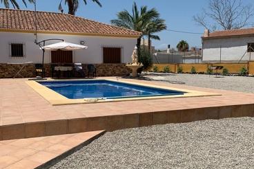 Casa Rural con piscina y barbacoa en Cuevas del Almanzora