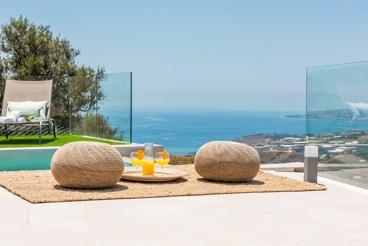 Casita boutique con vistas al Mar Mediterráneo