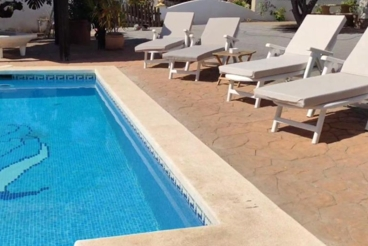 Vakantiehuis met zwembad en barbecue in Torrox