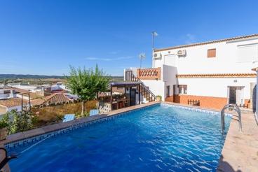 Vakantiehuis met tuin en Wifi in La Puebla de Los Infantes