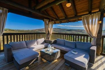 Vakantiehuis met comfortabele chill-out en prachtig uitzicht