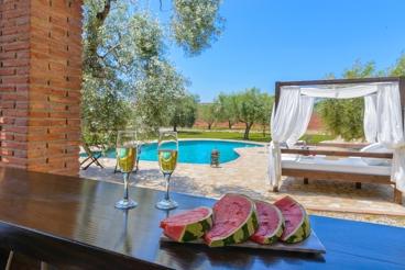 Charmante villa in romantische omgeving