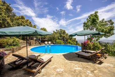 Vakantiehuis met zwembad en tuin in La Taha - Pitres