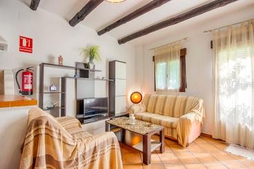 Huisdiervriendelijk appartement voor 5 personen in de Alpujarra van Granada