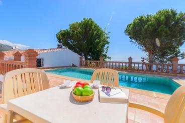 Prachtige Villa met Spectaculaire Uitzichten op Zee en de Bergen in Frigiliana