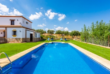 Holiday home surrounded by olive trees in Setenil de las Bodegas