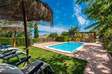 Andalusische villa met adembenemend bergzicht