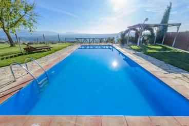 Prachtige villa met grandioos uitzicht op de bergen