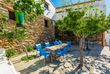 Vakantiehuis met 2 slaapkamers en een gedeelde buitenruimte in de provincie Almeria